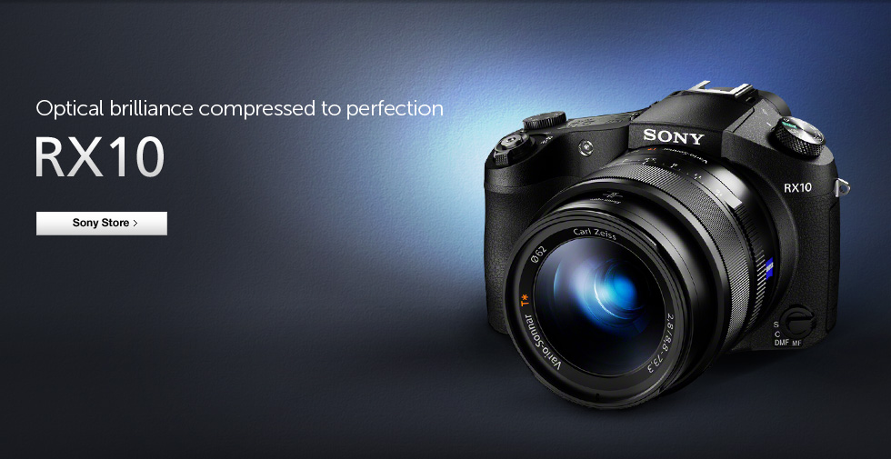 Optical brilliance compressed to perfection - RX10
