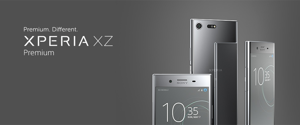 Xperia X Premium - Premium. Different
