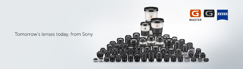Tomorrow's lenses today, from Sony