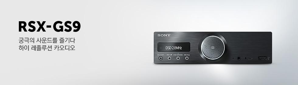 RSX-GS9, 궁극의 사운드를 즐기다 하이 레졸루션 카오디오