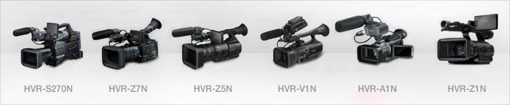 HVR-S270N  HVR-Z7N  HVR-Z5N HVR-V1N HVR-A1N HVR-Z1N